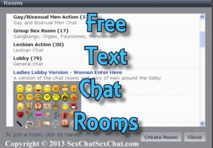 Free Text Chat Rooms